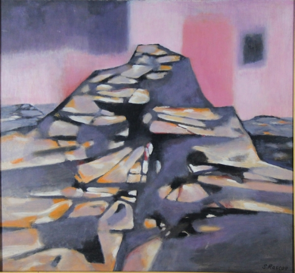 Cubist Mountain